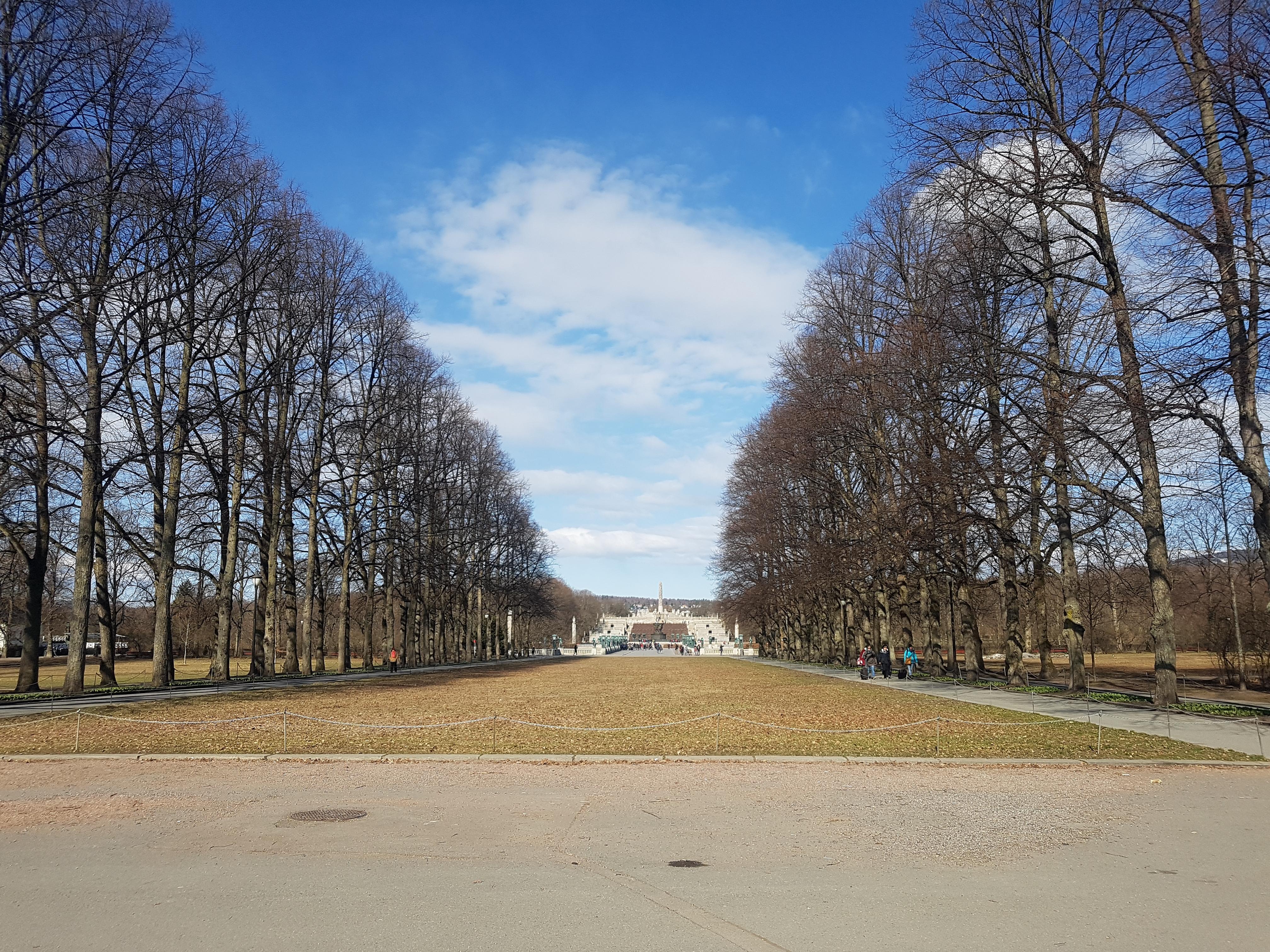 Park Vigelanda Oslo.