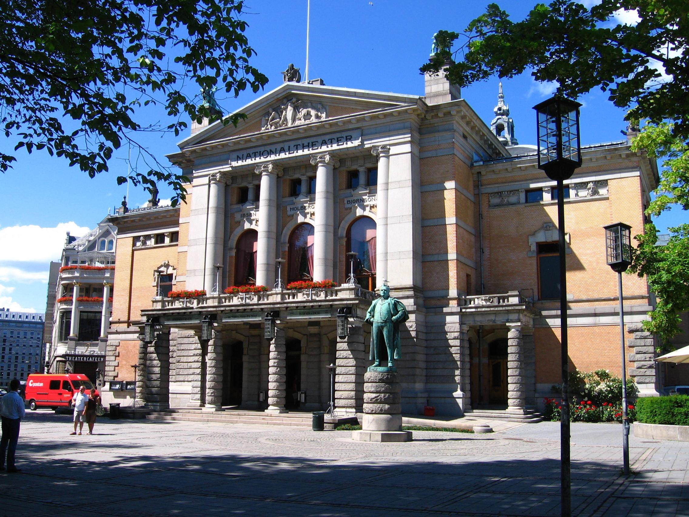 Teatr Narodowy. Oslo.