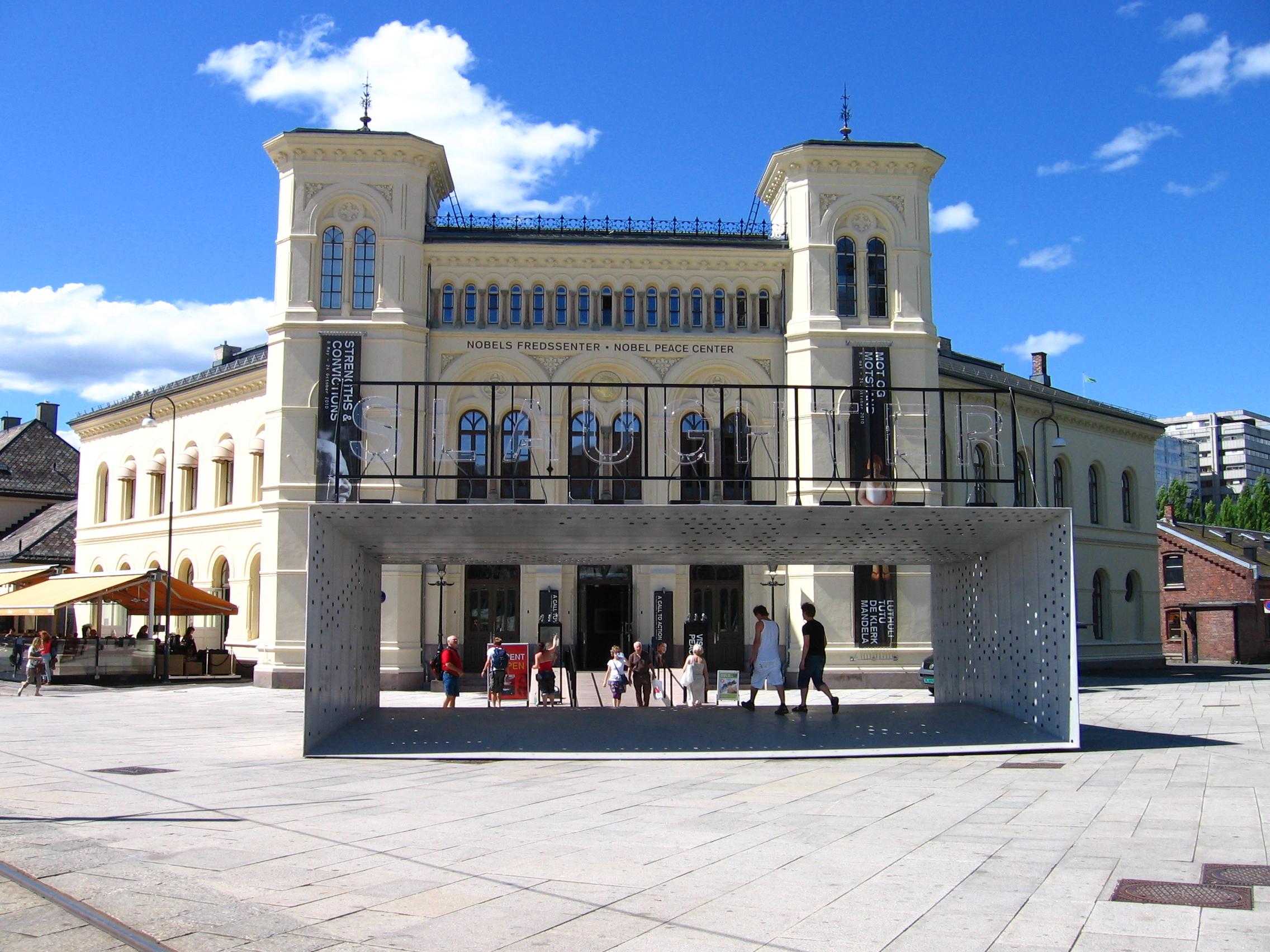 Muzeum Nobla. Oslo.