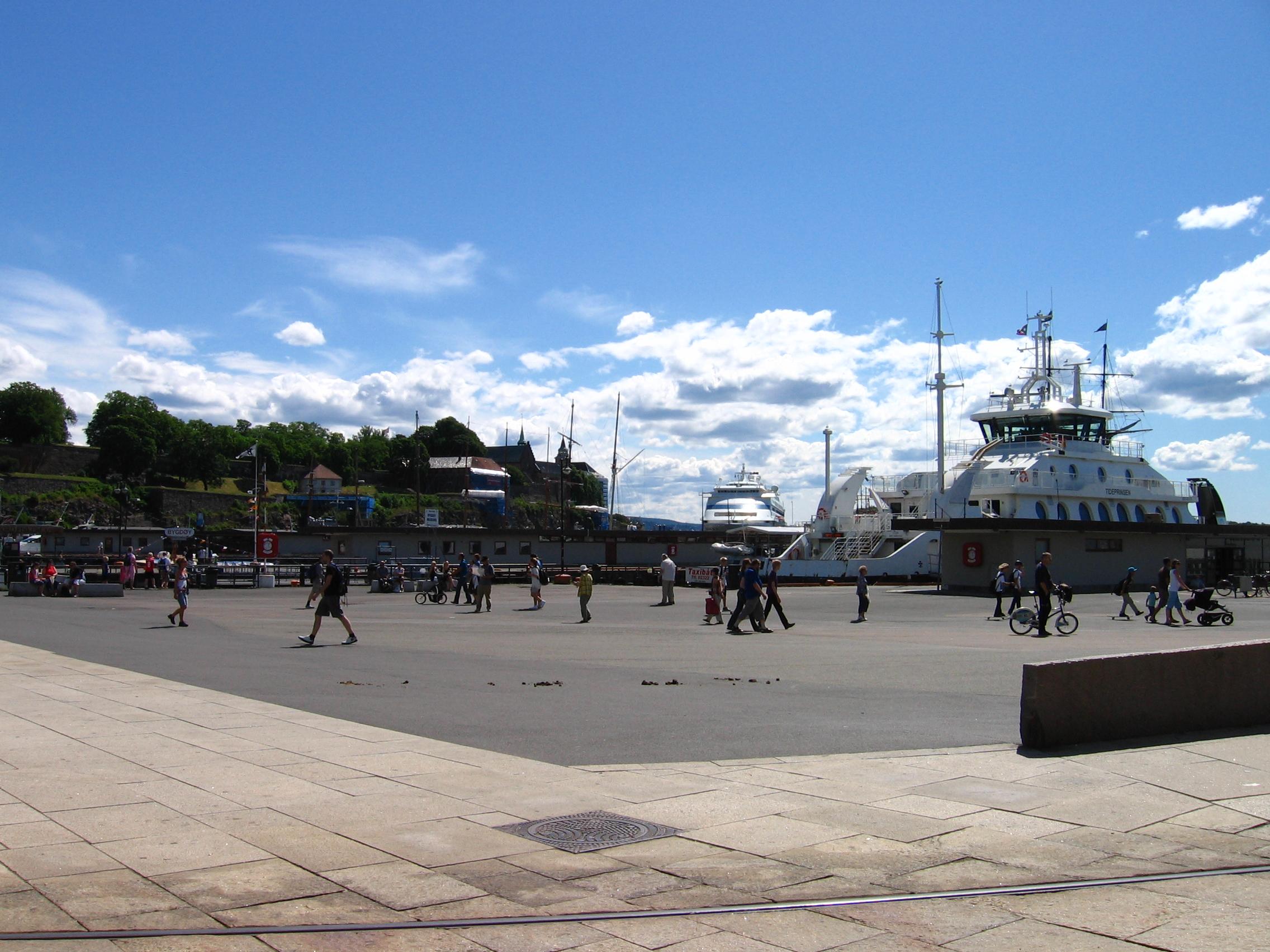 Zamek. Oslo.