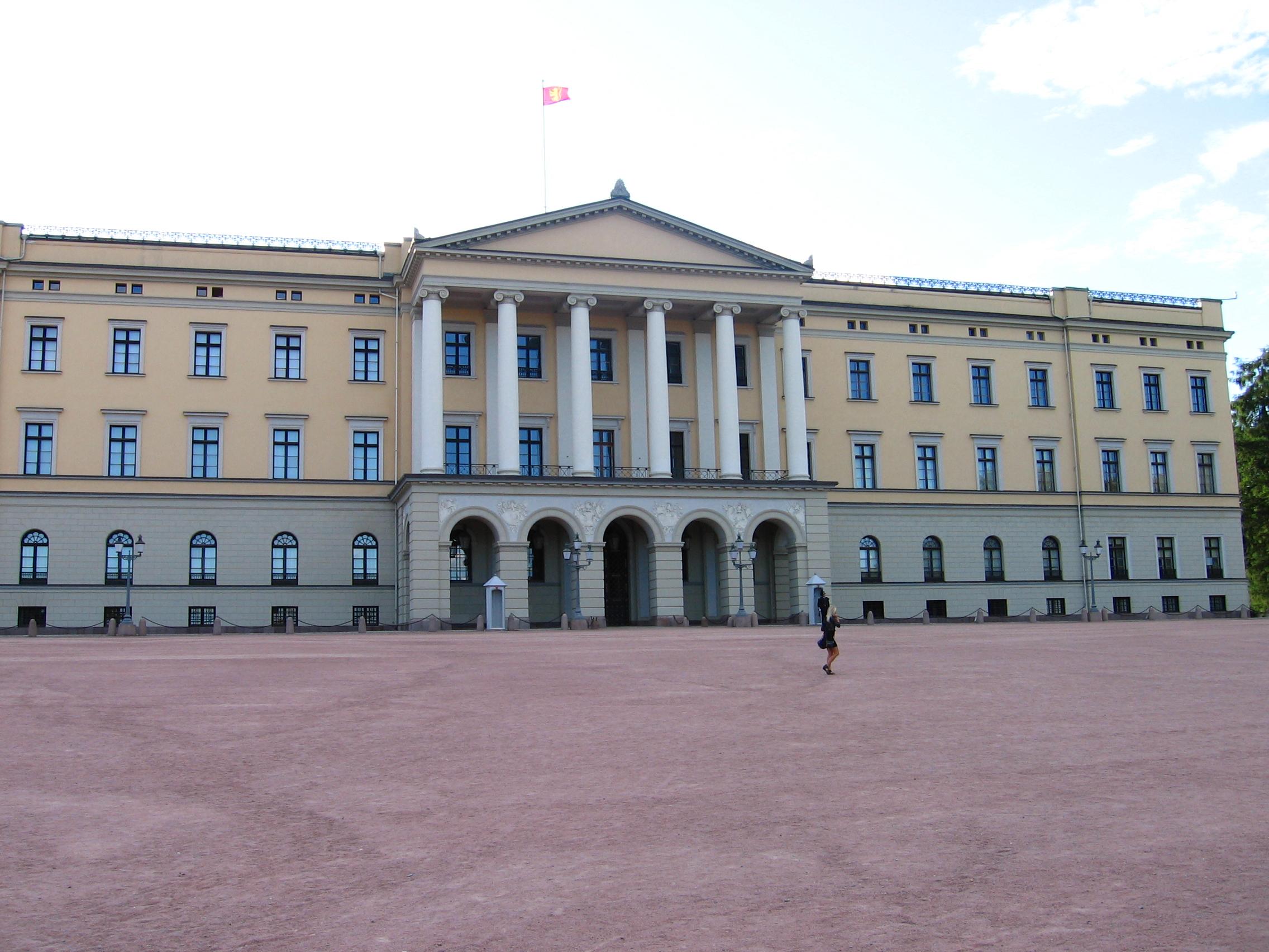 Zamek Królewski w Oslo.